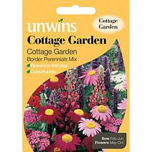 Unwins Cottage Garden Border Perennial Seeds
