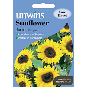 Unwins Junior F1 Sunflower Seeds
