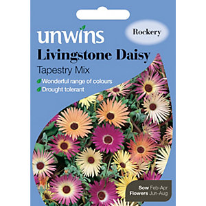 Unwins Livingstone Tapestry Mixed Daisy Seeds