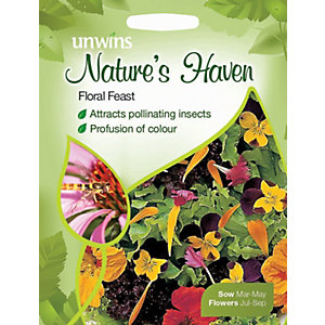 Unwins Natures Haven Floral Feast Seeds