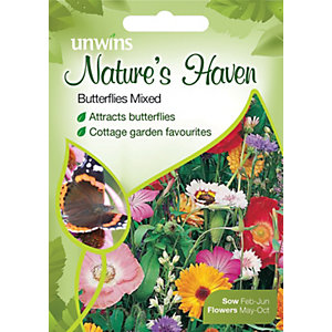Unwins Natures Haven Mixed Flower Seeds