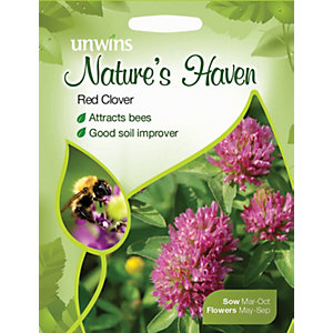 Unwins Natures Haven Red Clover Seeds