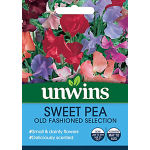 Unwins Old Fashioned Mix Sweet Pea Seeds