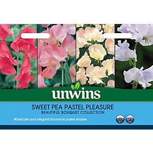Unwins Pastel Pleasure Sweet Pea Seeds