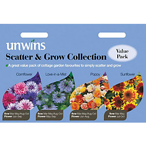 Unwins Scatter & Grow Seed Collection