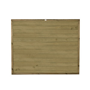 Forest Garden Tongue & Groove Horizontal Fence Panel - 6 x 5ft Multi Packs
