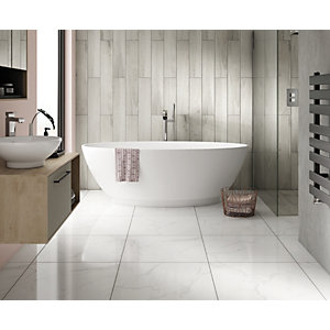 Wickes Gabella Contemporary Freestanding Bath - 1790mm