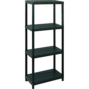 Addis 4 Tier Plastic Shelving Unit