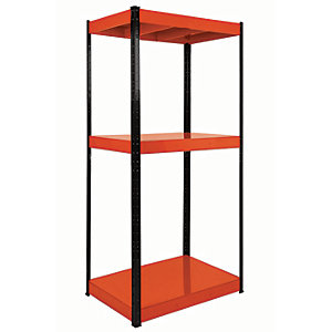 Rb Boss Shelf Kit 3 Metal Shelves - 1800 x 900 x 600mm 500kg Udl