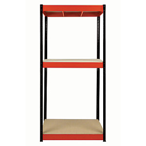 Rb Boss Shelf Kit 3 Wood Shelves - 1800 x 900 x 300mm 300kg Udl