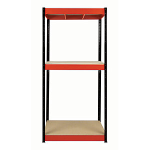 Rb Boss Shelf Kit 3 Wood Shelves - 1800 x 900 x 300mm 800kg Udl