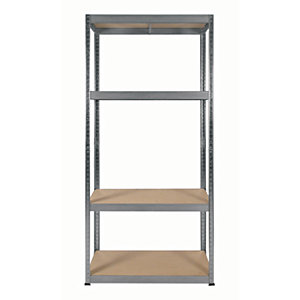 Rb Boss Shelf Kit 4 Wood Shelves - 1600 x 750 x 350mm 175kg Udl