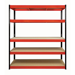 Rb Boss Shelf Kit 5 Wood Shelves - 1800 x 900 x 300mm 250kg Udl
