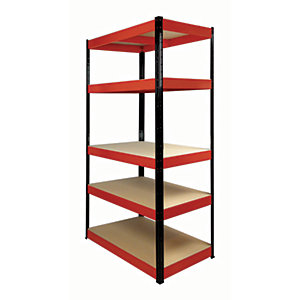 Rb Boss Shelf Kit 5 Wood Shelves - 1800 x 900 x 400mm 250kg Udl