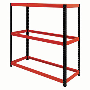 Rb Boss Tyre Rack 3 Shelves - 1200 x 1180 x 450mm 200kg Udl