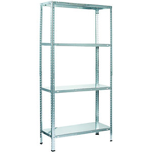Wickes 4 Tier Metal Shelving Unit 45kg