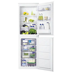 Zanussi 50:50 Combi Fridge Freezer ZBB27640SV