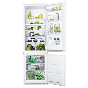 Zanussi 70:30 Fridge Freezer ZBB28441SV