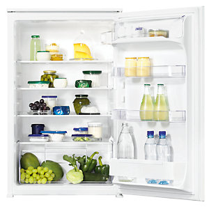 Zanussi Integrated Mid Height Fridge ZBA15021SV