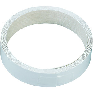Wickes Iron On Edging Tape White 22 x 2500mm