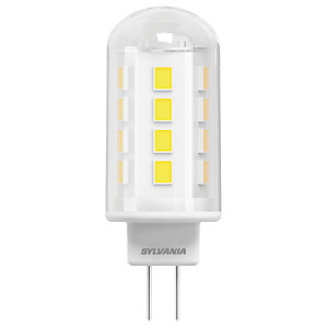 Sylvania LED Non Dimmable Capsule Bulb - 2.1W G9 200lm Pack of 2