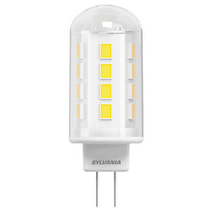 Sylvania LED Non Dimmable Capsule Bulb - 2.2W G4 200lm Pack of 2