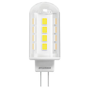 Sylvania LED Non Dimmable Capsule Bulb - 3.8W G9 400lm Pack of 2