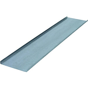 Wickes Galvanised Fixing Channel - 0.7mm x 100mm x 2.4m