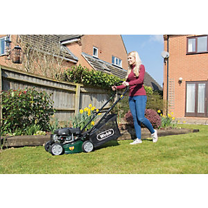 Webb R41HP Push Petrol Lawnmower 40cm