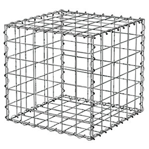 Gabion Cage Wire Basket 300 x 300 x 300mm