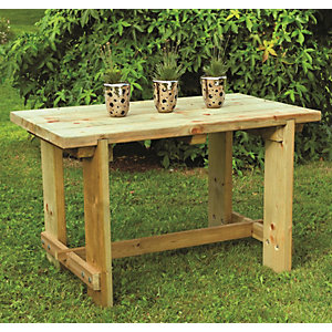 Garden Furniture Picnic Tables Benches Wickes Co Uk