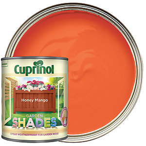 Cuprinol Garden Shades Matt Wood Treatment - Honey Mango 1L