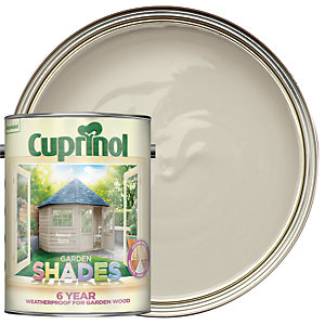 Cuprinol Garden Shades Matt Wood Treatment - Natural Stone 5L