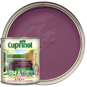 Cuprinol Garden Shades Matt Wood Treatment - Summer Damson 2.5L