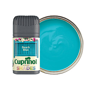 Cuprinol Garden Shades Matt Wood Treatment Tester Pot - Beach Blue 50ml