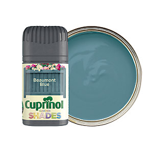 Cuprinol Garden Shades Matt Wood Treatment Tester Pot - Beaumont Blue 50ml