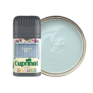 Cuprinol Garden Shades Matt Wood Treatment Tester Pot - Coastal Mist 50ml
