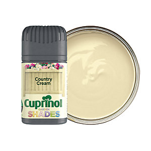 Cuprinol Garden Shades Matt Wood Treatment Tester Pot - Country Cream 50ml