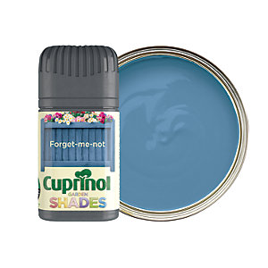 Cuprinol Garden Shades Matt Wood Treatment Tester Pot - Forget-Me-Not 50ml
