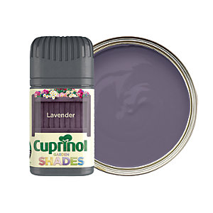 Cuprinol Garden Shades Matt Wood Treatment Tester Pot - Lavender 50ml