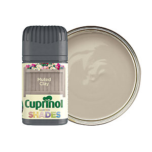 Cuprinol Garden Shades Matt Wood Treatment Tester Pot - Muted Clay 50ml