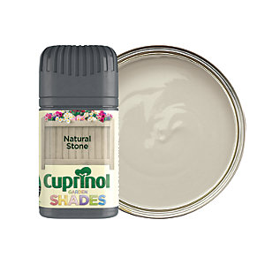 Cuprinol Garden Shades Matt Wood Treatment Tester Pot - Natural Stone 50ml