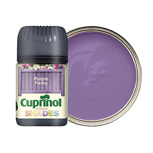 Cuprinol Garden Shades Matt Wood Treatment Tester Pot - Purple Pansy 50ml