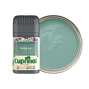 Cuprinol Garden Shades Matt Wood Treatment Tester Pot - Seagrass 50ml