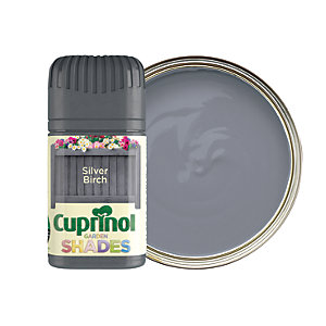 Cuprinol Garden Shades Matt Wood Treatment Tester Pot - Silver Birch 50ml