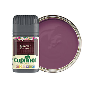 Cuprinol Garden Shades Matt Wood Treatment Tester Pot - Summer Damson 50ml