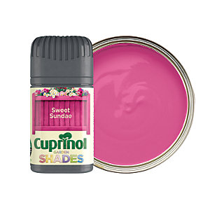 Cuprinol Garden Shades Matt Wood Treatment Tester Pot - Sweet Sundae 50ml