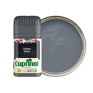 Cuprinol Garden Shades Matt Wood Treatment Tester Pot - Urban Slate 50ml