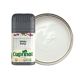 Cuprinol Garden Shades Matt Wood Treatment Tester Pot - White Daisy 50ml