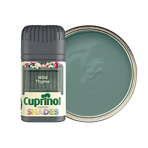 Cuprinol Garden Shades Matt Wood Treatment Tester Pot - Wild Thyme 50ml
